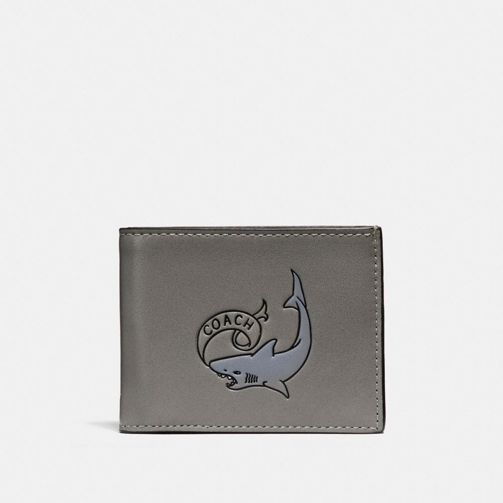 SLIM BILLFOLD WALLET WITH TATTOO
