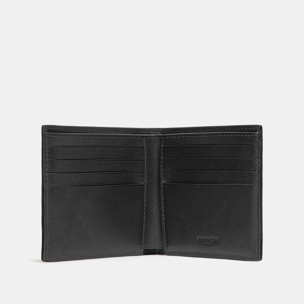 Coach Double Billfold Wallet With Tattoo Alternate View 1