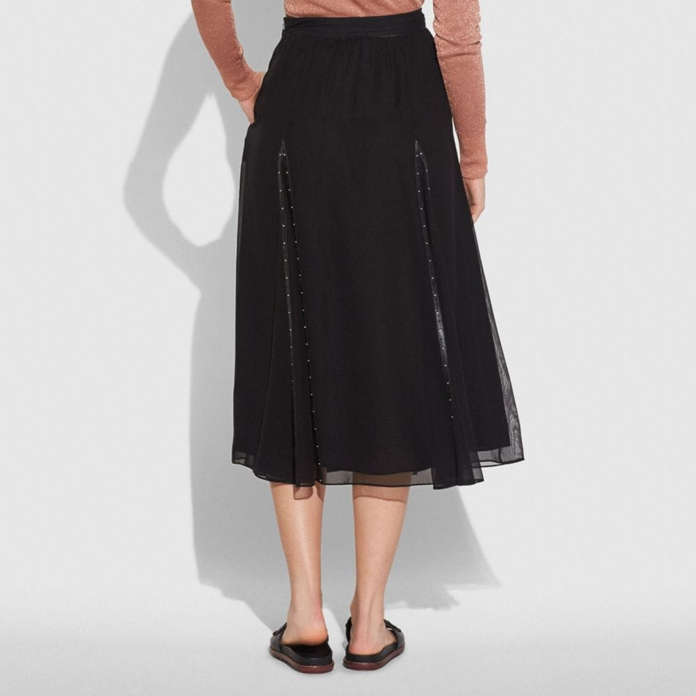 Coach Prairie Rivets Long Skirt Alternate View 2