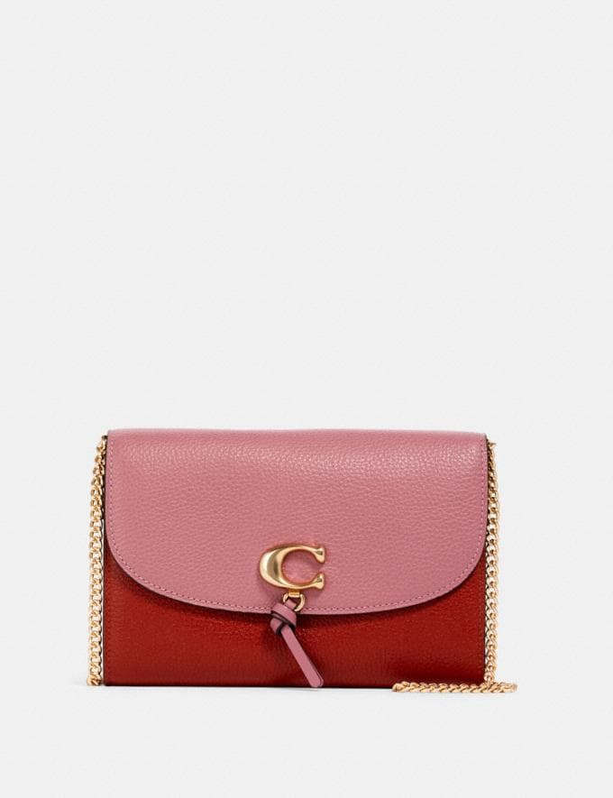 Coach Remi Chain Crossbody in Colorblock Im/Rose Multi