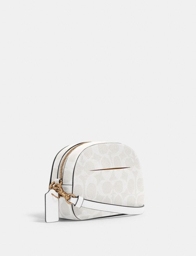 Coach Mini Serena Crossbody in Signature Canvas Im/Chalk/Glacierwhite Gifts Gifts Gifts Under $100 Alternate View 1