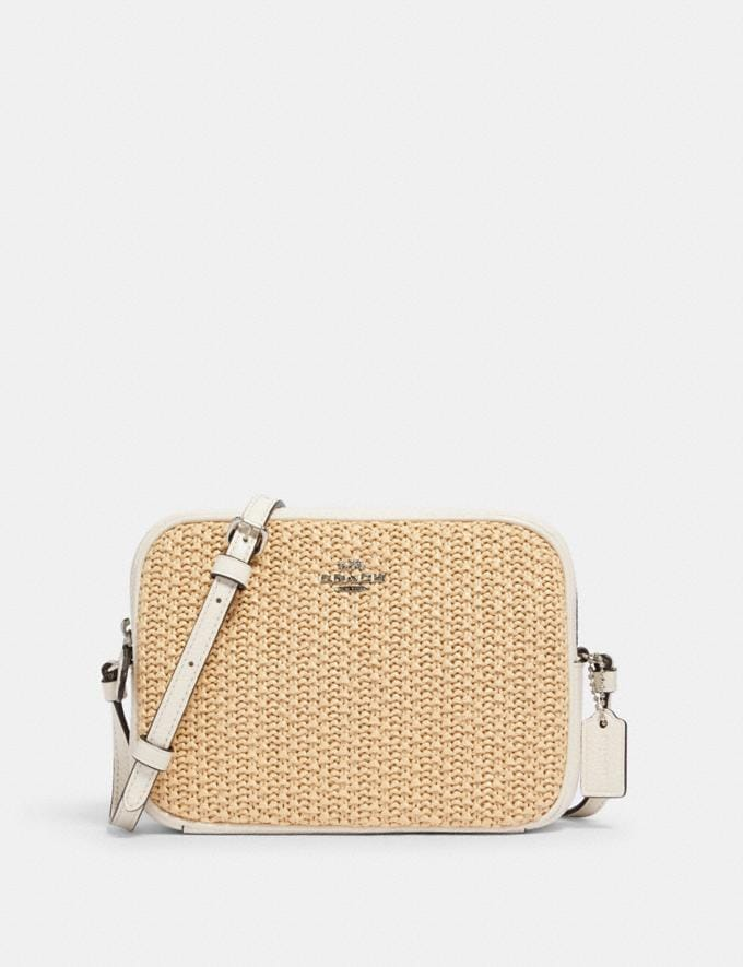 Coach Mini Camera Bag Sv/Chalk Clearance New To Clearance