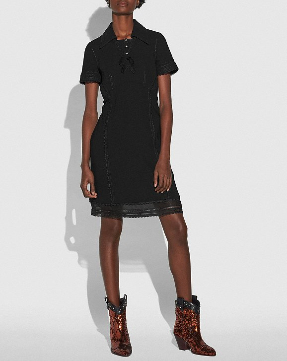 Coach Collar Dress