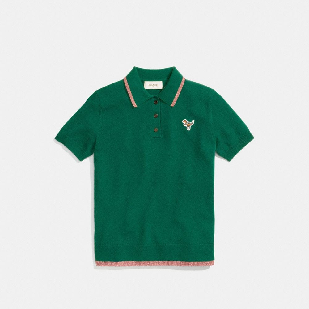 Coach Essentials Polo Alternate View 1