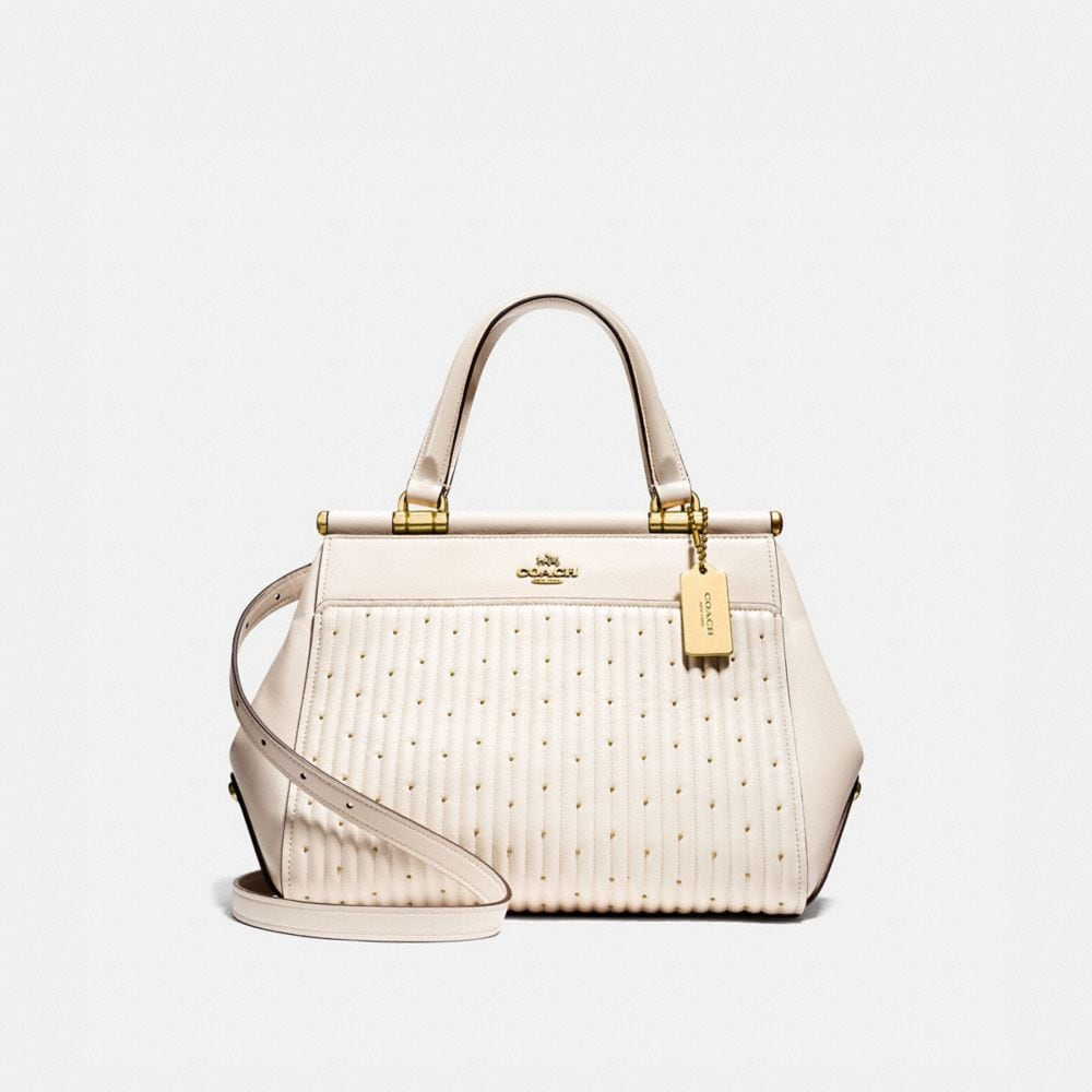 Coach Grace Bag With Quilting and Rivets