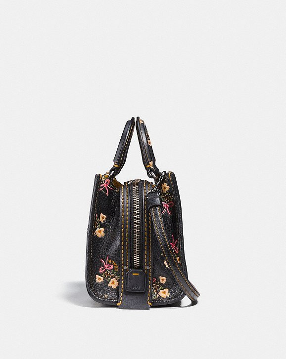 Coach Rogue 17 With Floral Bow Print Alternate View 1