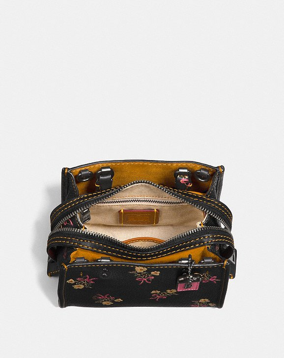 Coach Rogue 17 With Floral Bow Print Alternate View 2
