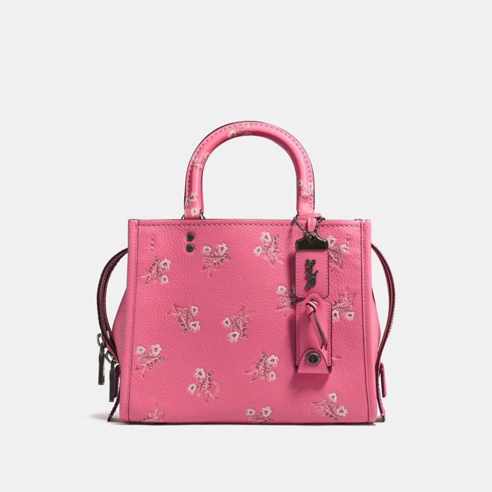Coach Rogue 25 With Floral Bow Print Coach