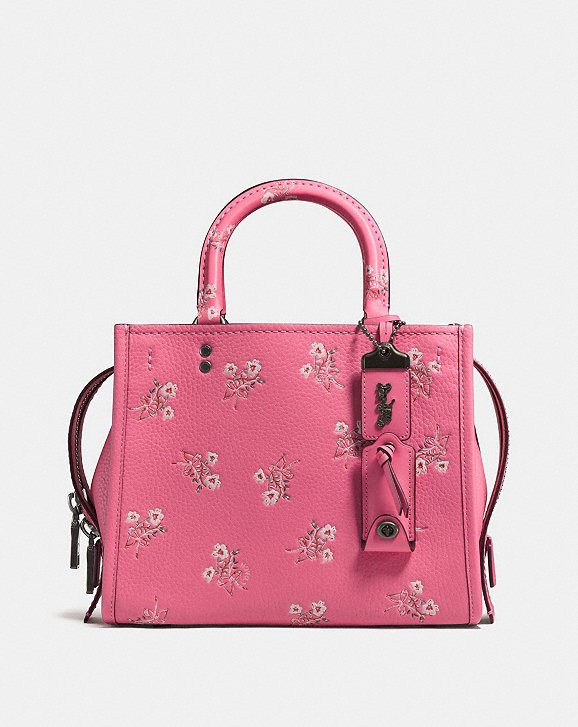 Coach Rogue 25 With Floral Bow Print Coach D7zqqc