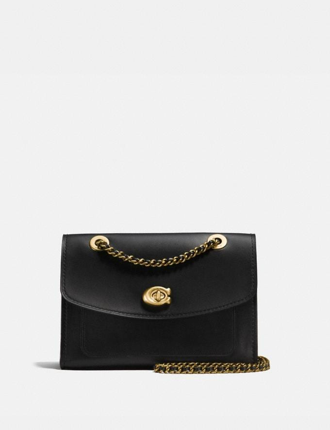 Coach Parker Black/Brass Personalise Personalise It Monogram For Her