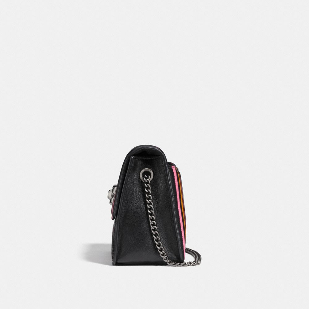 Coach Bowery Crossbody With Colorblock Quilting and Rivets Alternate View 1