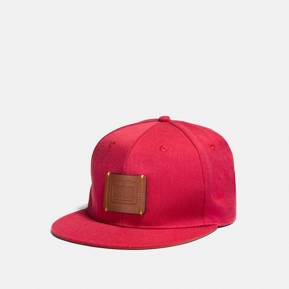Coach Story Patch Baseball Hat