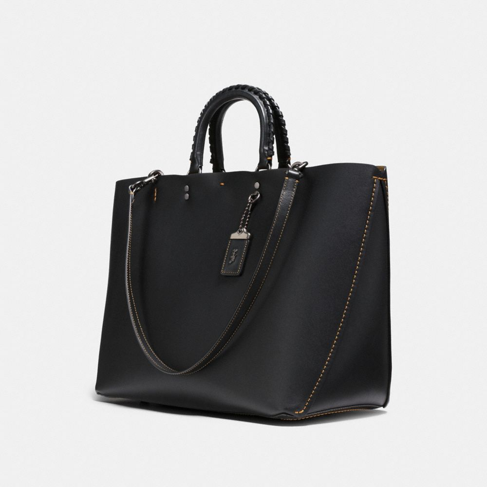 Coach Rogue Tote With Whipstitch Handle Alternate View 2