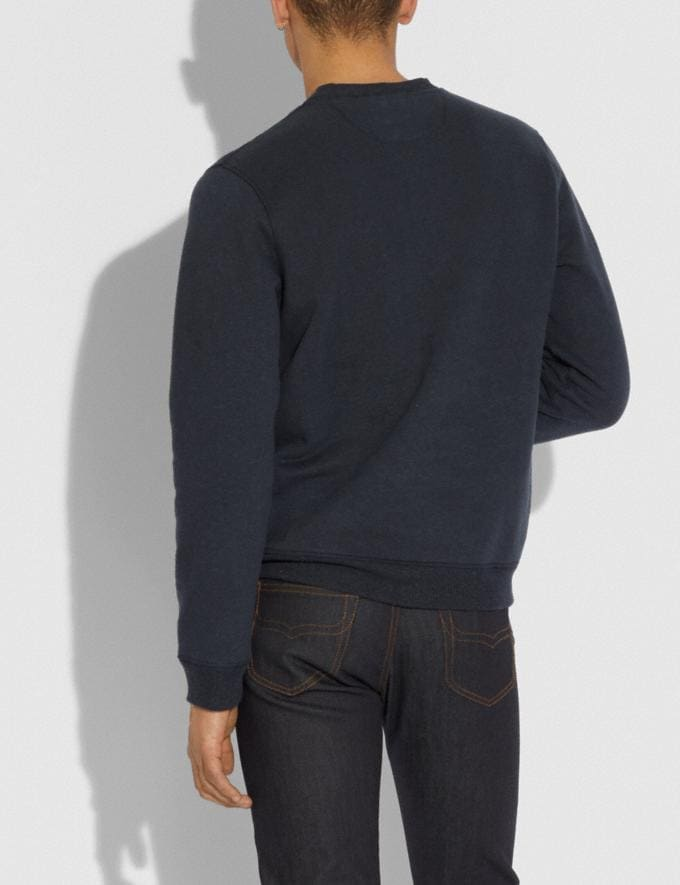 Coach Coach X Richard Bernstein Sweatshirt With Barbra Streisand Black Men Ready-to-Wear Tops & Bottoms Alternate View 2