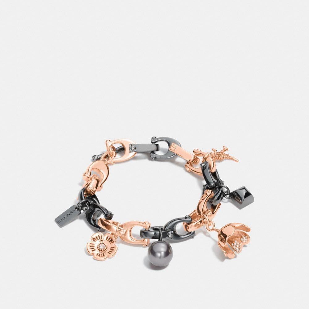 Coach Signature Charm Bracelet