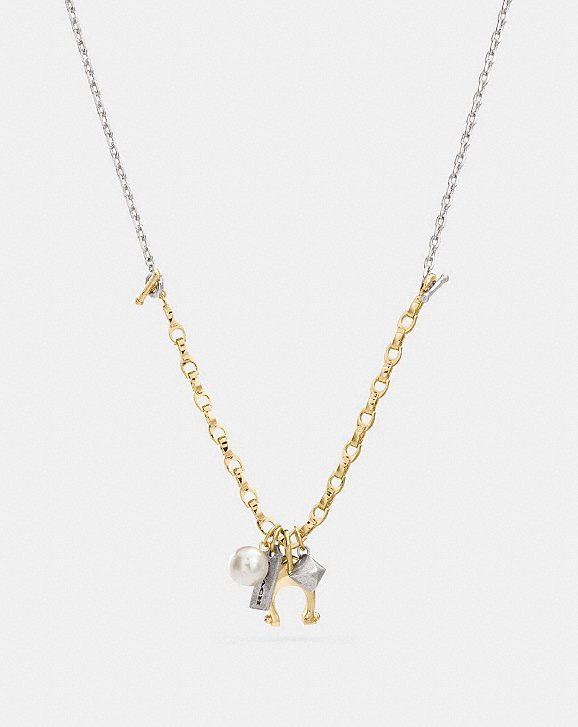 moonstone grande aj necklace products gold r charm multi luv