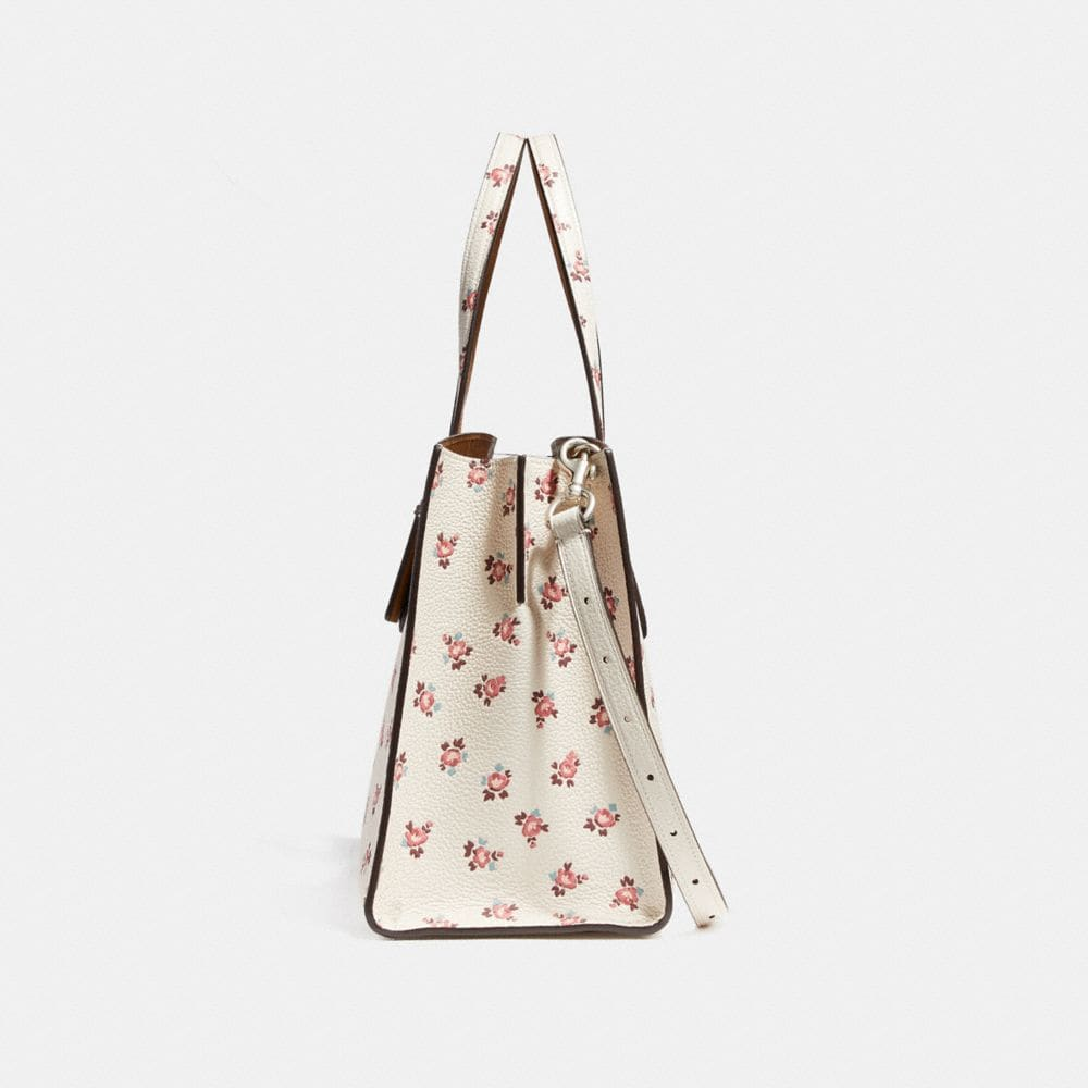 Coach Charlie Carryall With Floral Bloom Print Alternate View 1