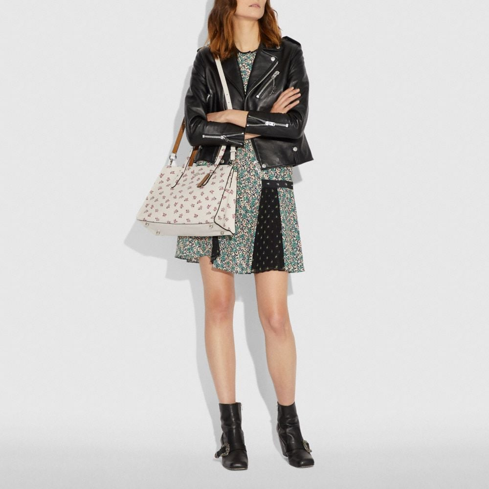 Coach Charlie Carryall With Floral Bloom Print Alternate View 3