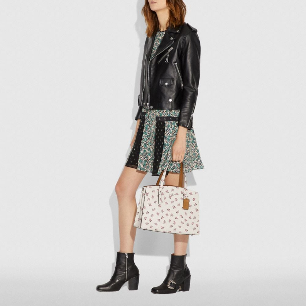 Coach Charlie Carryall With Floral Bloom Print Alternate View 4