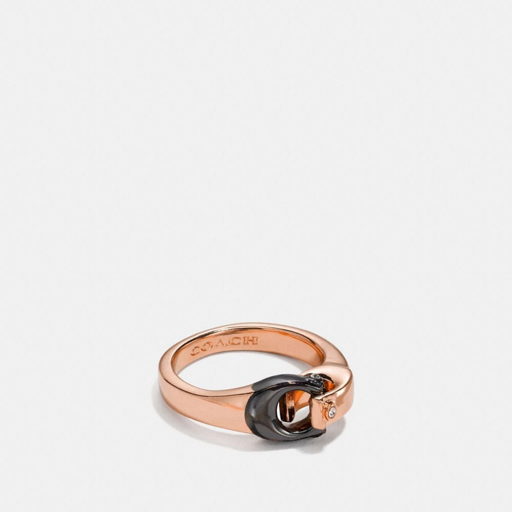 Coach Signature Ring