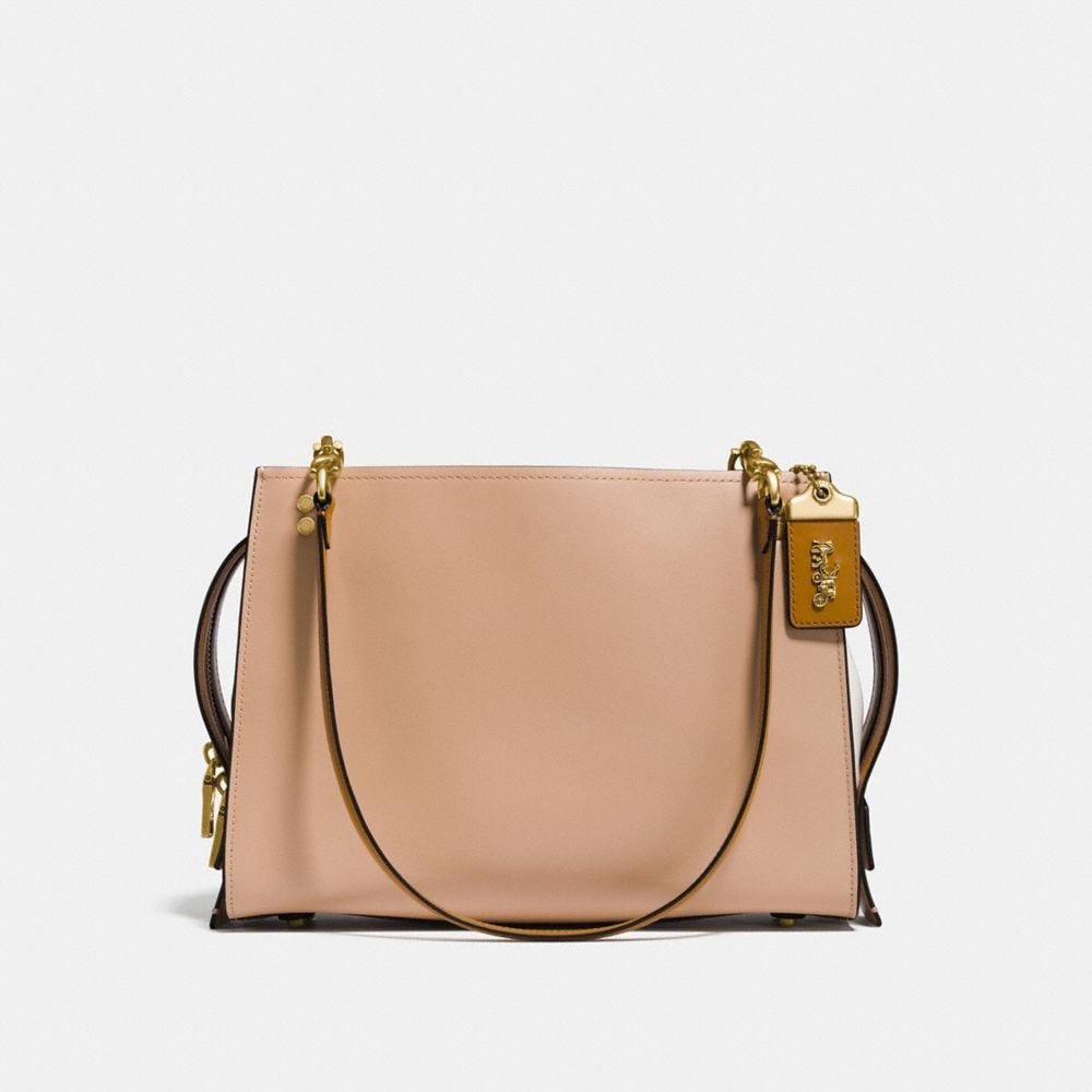 rogue shoulder bag in colorblock