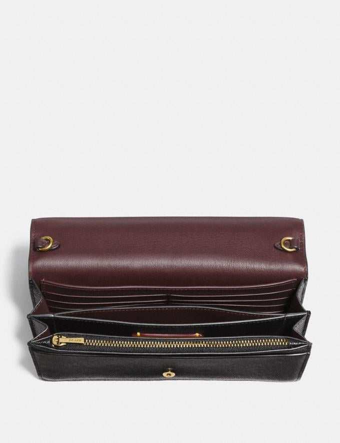 Coach Callie Foldover Chain Clutch Old Brass/Black SALE 30% off Select Full-Price Styles Women's Alternate View 2