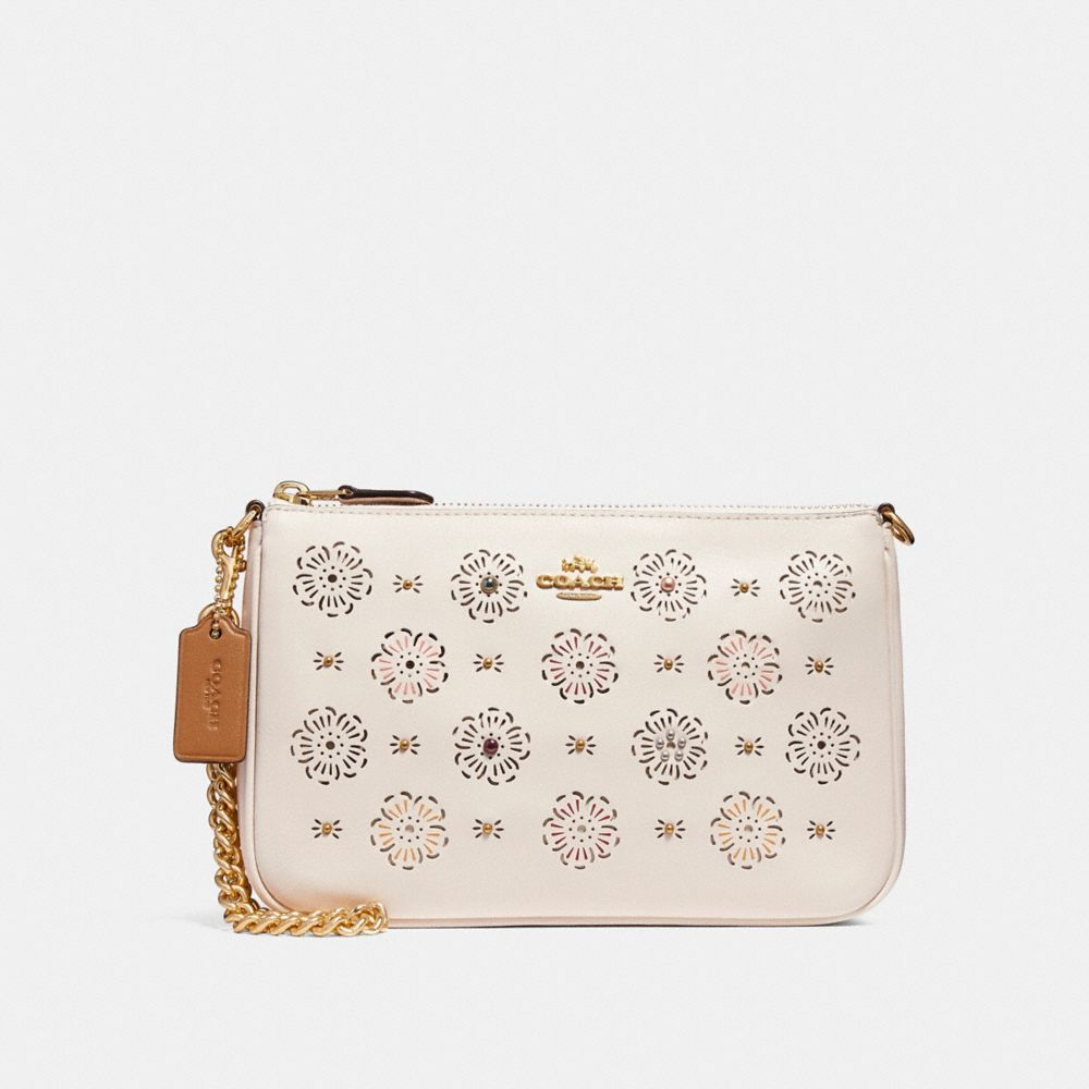 nolita wristlet 22 with cut out tea rose