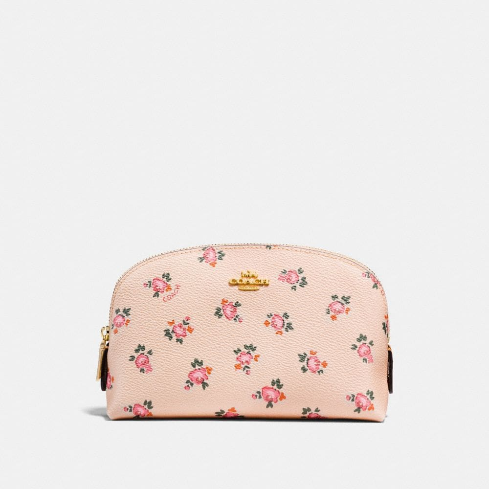 Cosmetic Case 17 With Floral Bloom Print by Coach