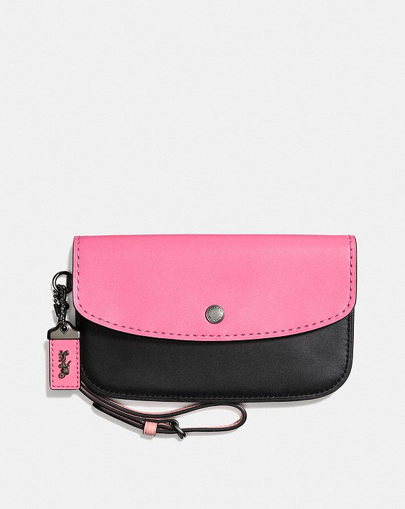 Clutch in Blockfarben Coach EFg5E