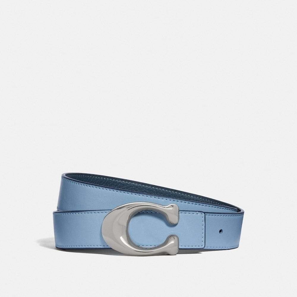 SCULPTED SIGNATURE REVERSIBLE BELT