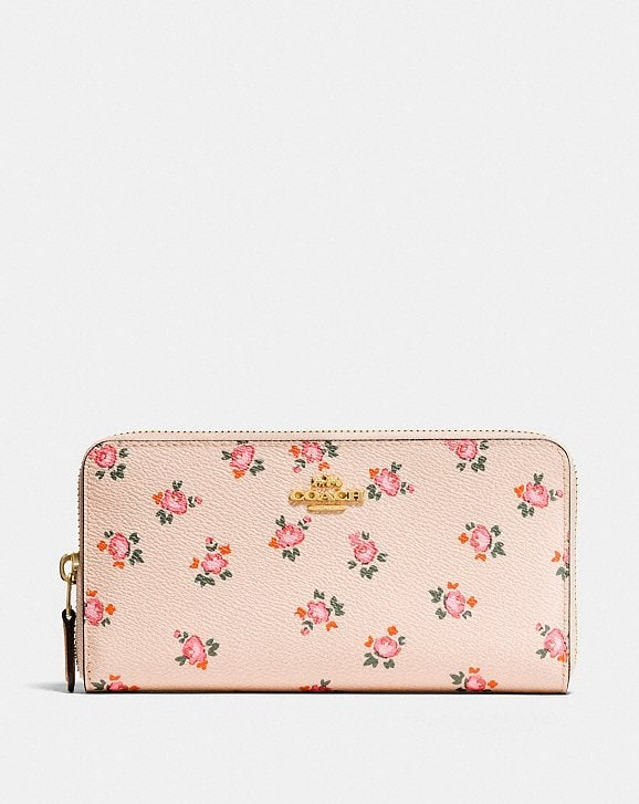 Shoptagr   Accordion Zip Wallet With Floral Bloom Print by Coach 627a90f1a1