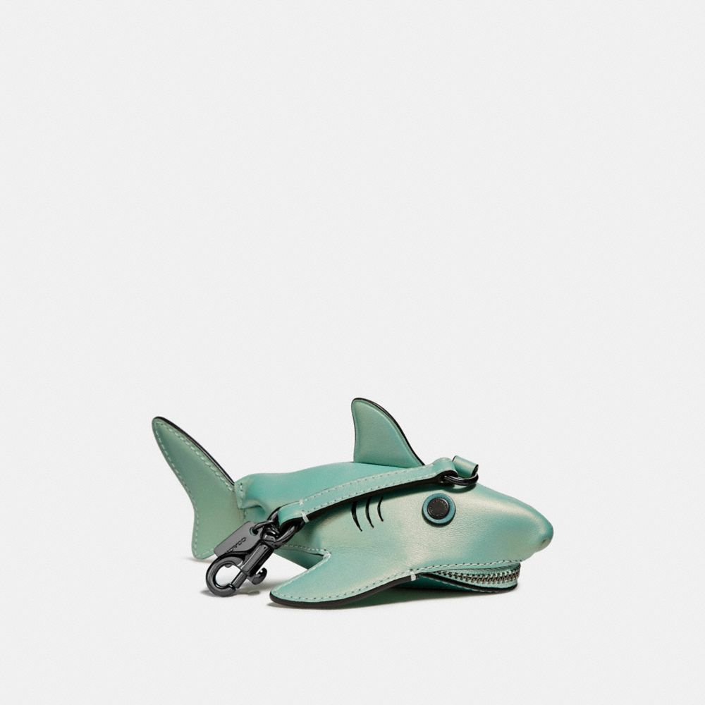 Coach Sharky Coin Case