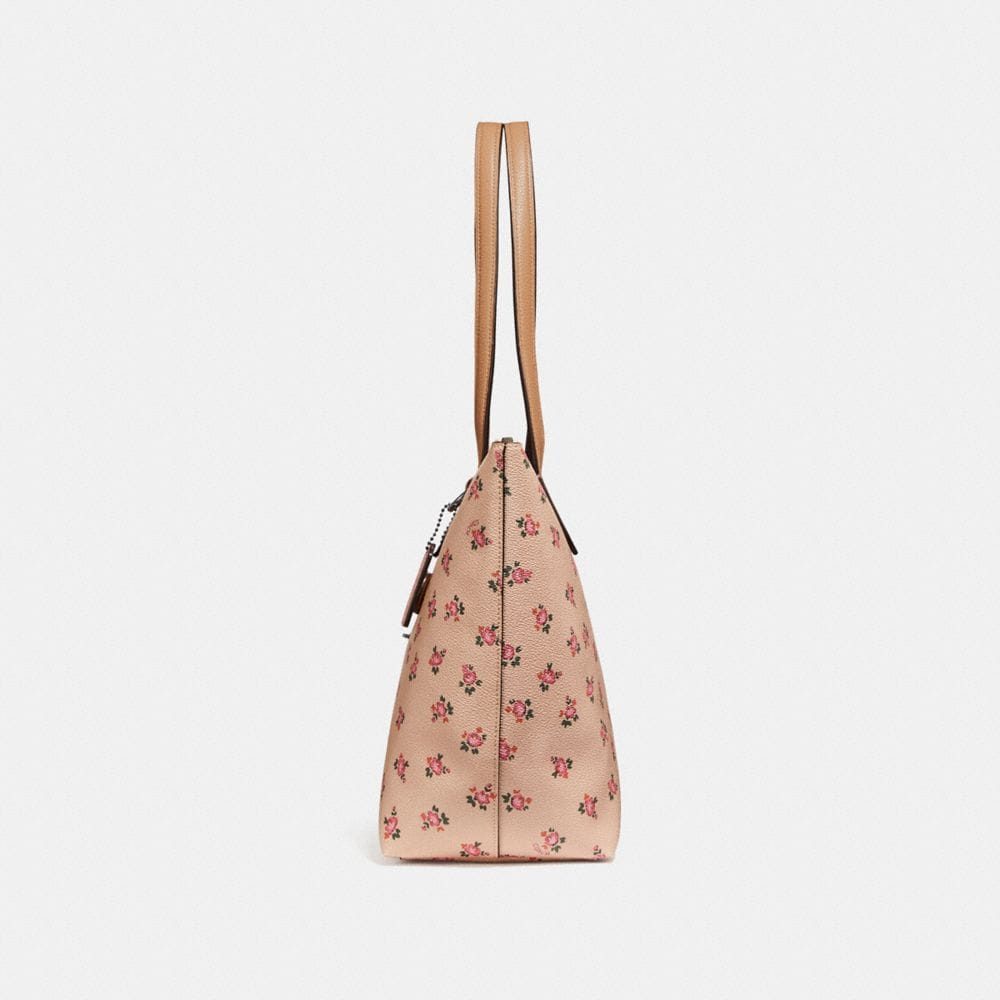 Coach Taylor Tote With Floral Bloom Print Alternate View 1