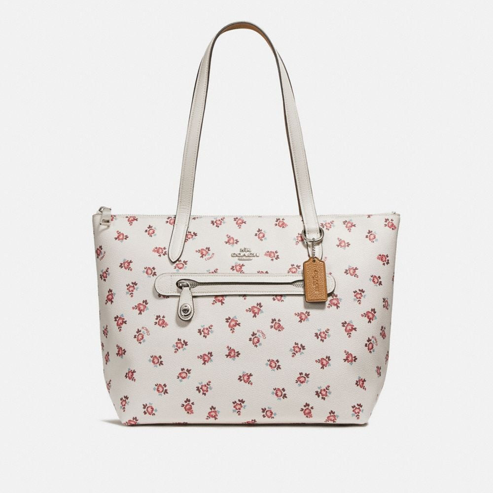 Coach Taylor Tote With Floral Bloom Print