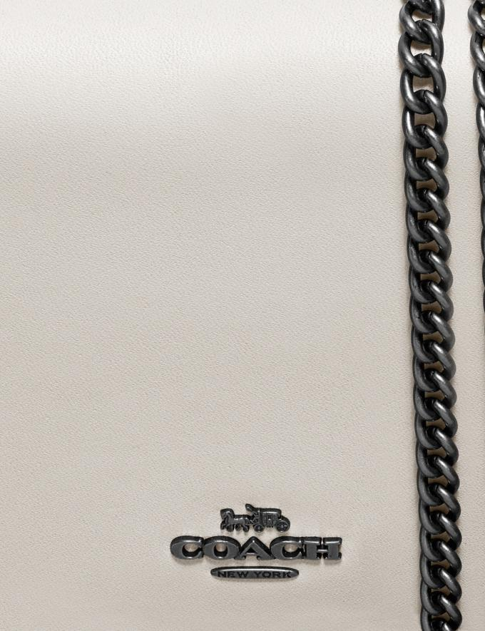 Coach Callie Foldover Chain Clutch Black Copper/Chalk 30% off Select Full-Price Styles Alternate View 6
