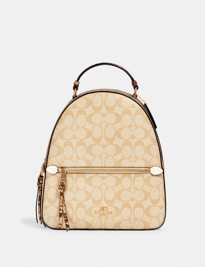 JORDYN BACKPACK IN SIGNATURE CANVAS