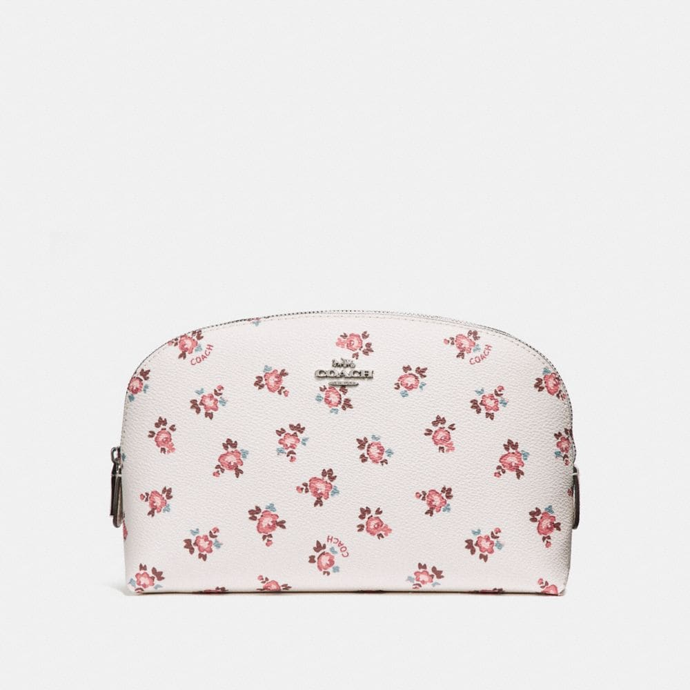 COSMETIC CASE 22 WITH FLORAL BLOOM PRINT
