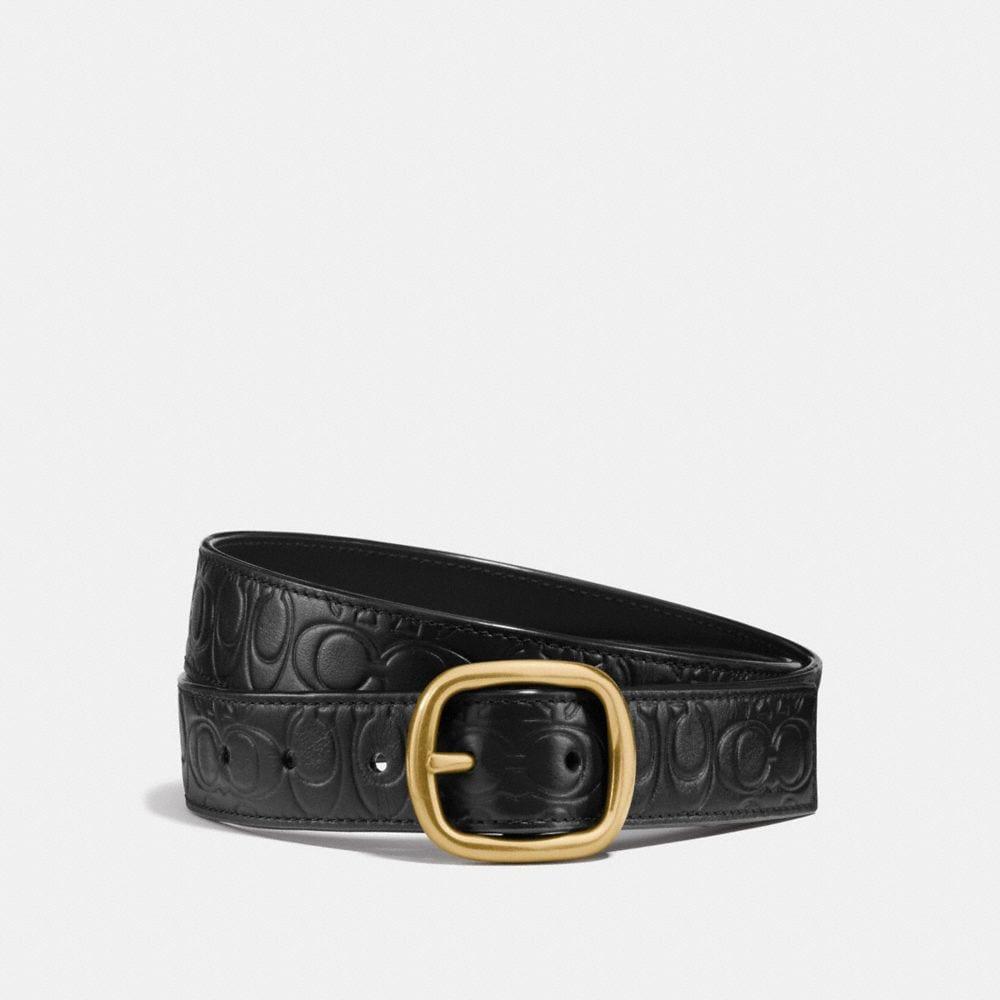 Coach Classic Reversible Belt in Signature Leather