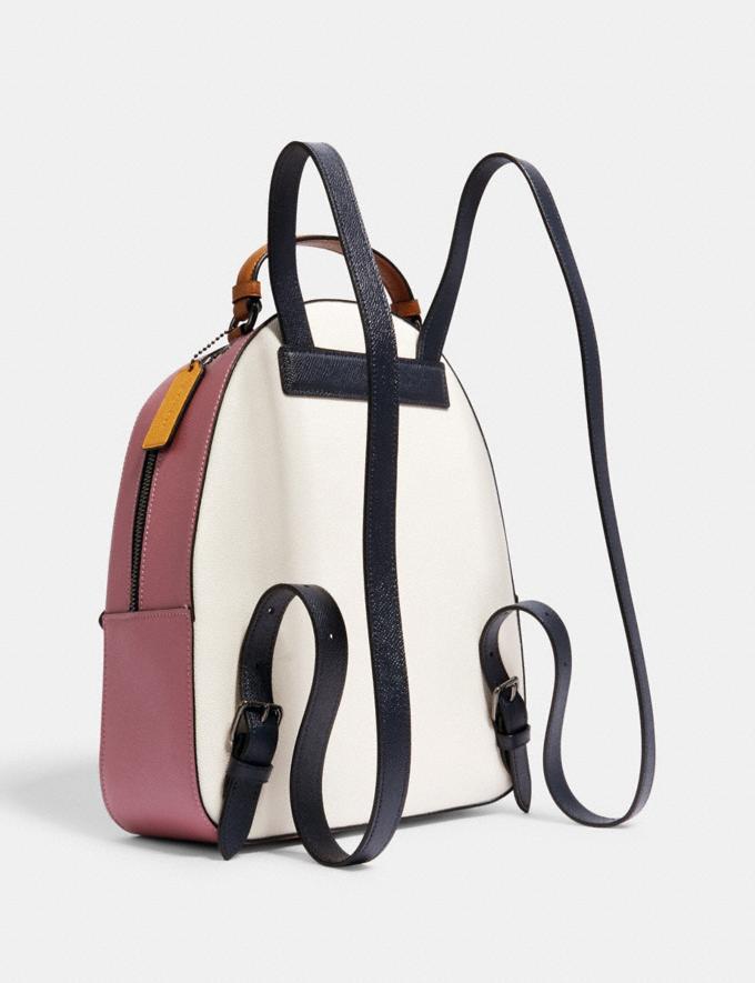 Coach Jordyn Backpack in Colorblock Qb/Chalk Multi Women Bags Alternate View 1
