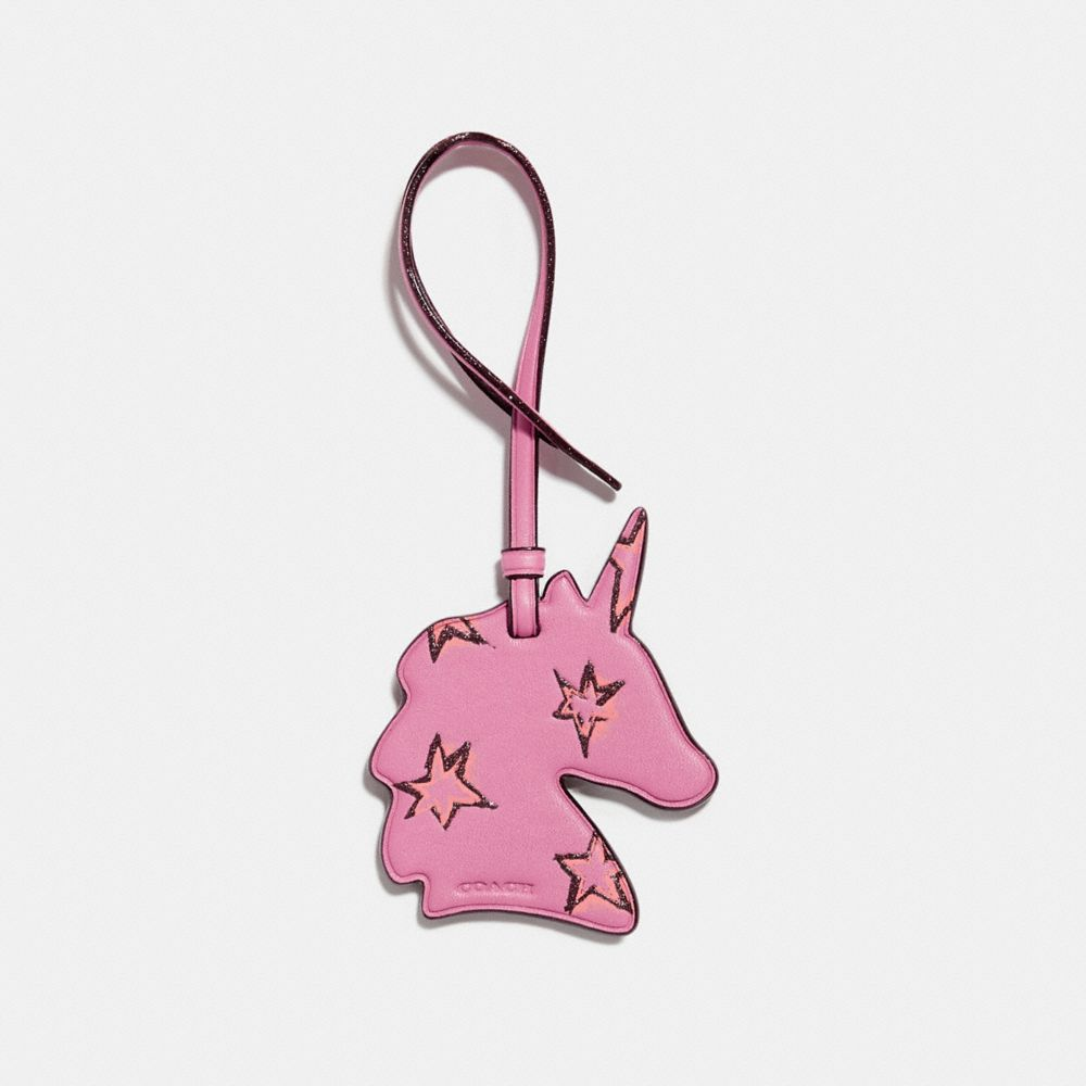 Coach Uni Ornament Bright pink KFNWw