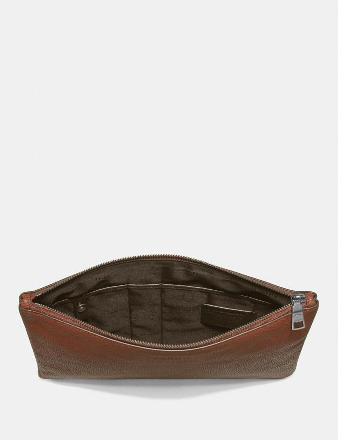 Coach Large Multifunctional Pouch Denim New Featured Online-Only Alternate View 1