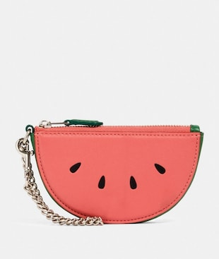 WATERMELON SLICE POUCH BAG CHARM