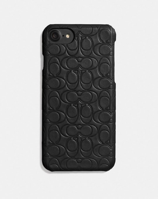 IPHONE 6S/7/8/X/XS CASE IN SIGNATURE LEATHER