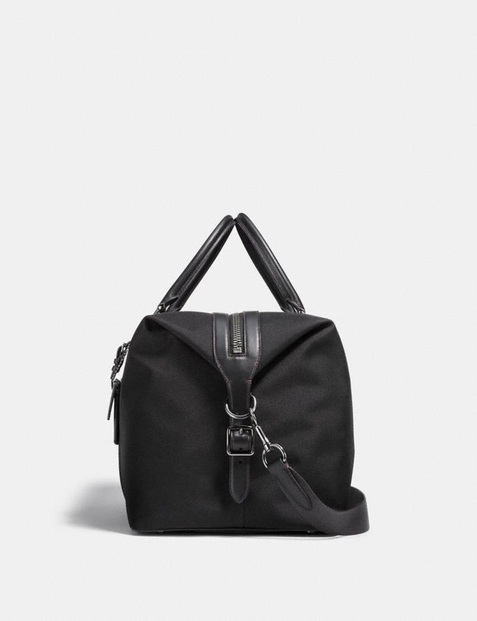 Coach Explorer Bag 52 Black/Black/Black Antique Nickel Men Accessories Tech & Travel Alternate View 1