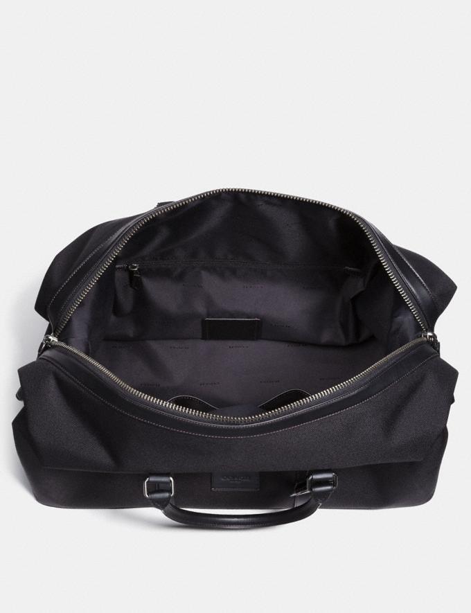 Coach Explorer Bag 52 Black/Black/Black Antique Nickel Men Accessories Tech & Travel Alternate View 2