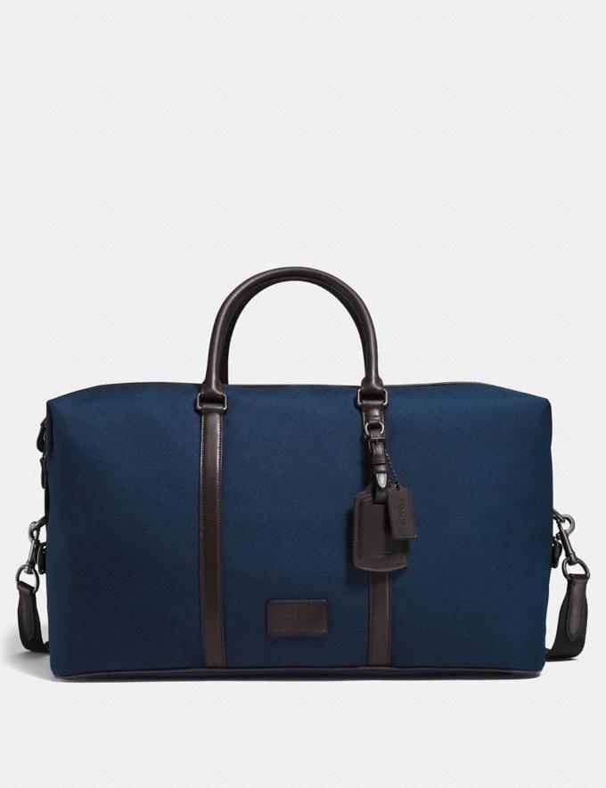Coach Explorer Bag 52 Black/Black/Black Antique Nickel Men Accessories Tech & Travel