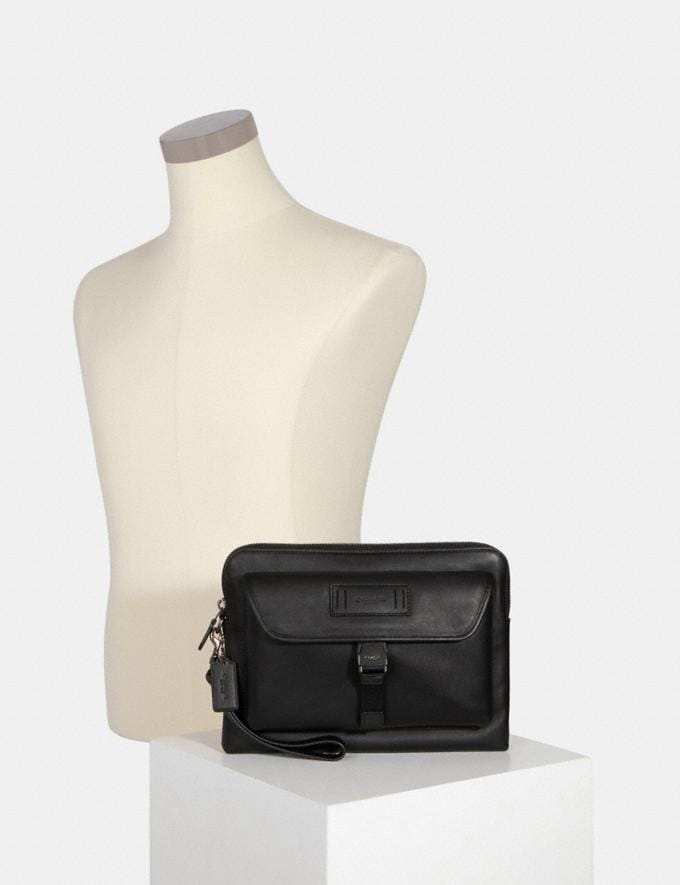 Coach Ranger Pouch Qb/Black Deals Finds Under $100 Alternate View 2