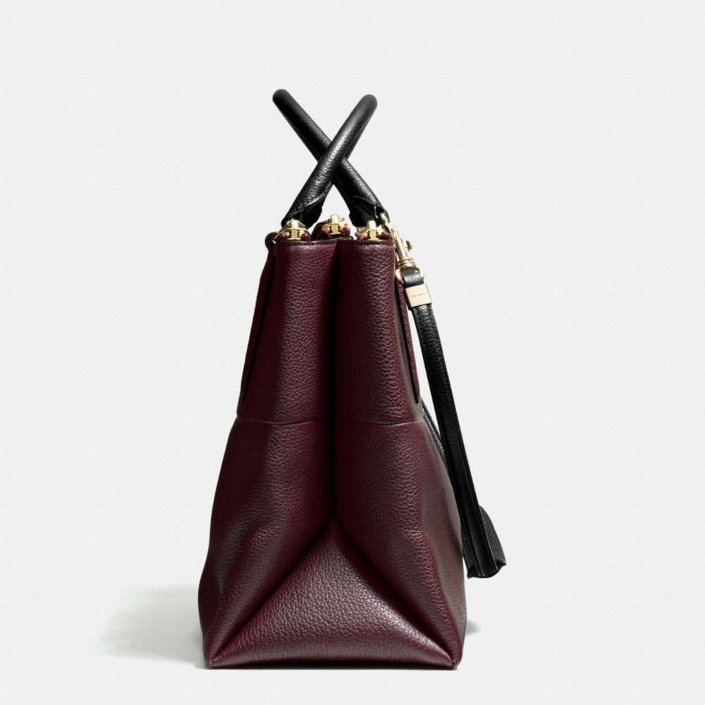 The Borough Bag in Pebbled Leather - Alternate View A1