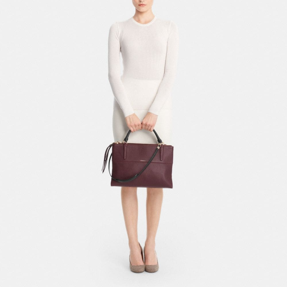 The Borough Bag in Pebbled Leather - Alternate View M2