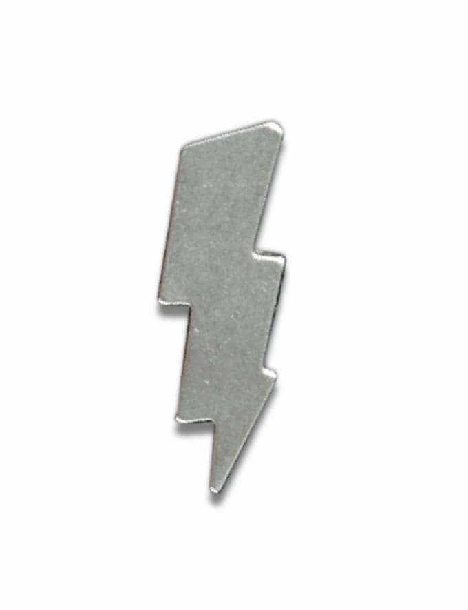 Coach Lightning Souvenir Pin Silver Customization For Her Customization SKUs